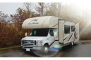 MH 31 ft Slide Class C rv rental - canada