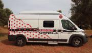 Flamenco Campers Lola motorhome rental spain