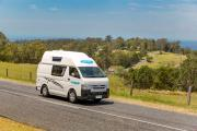 Cheapa 4 Berth motorhome rentalnew zealand