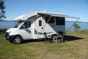 4 Berth LDV campervan hire - new zealand
