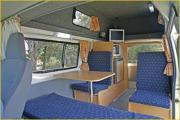 Calypso Campervan Rentals AU 3-4 Berth - The Riverina campervan hire adelaide