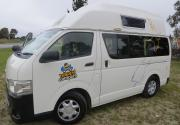 Happy Hi 4 campervan hire - new zealand