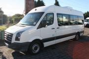 2 Berth Volkswagen Crafter campervan hire - new zealand