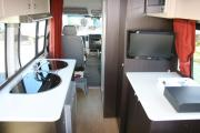 Ace Campervans 2 Berth Volkswagen Crafter campervan rental new zealand