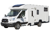 4 Berth Cruiser campervan hire - new zealand