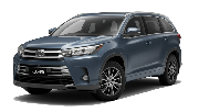 E Toyota Kluger Or Similar car hire australia