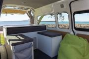 Action Pod 2 Berth Camper campervan hire - new zealand