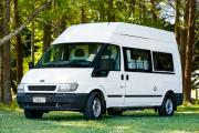 Budget Campers Budget Seeker new zealand airport campervan hire