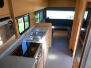 Coastal Campers New Zealand 4 berth motorhomes new zealand airport campervan hire