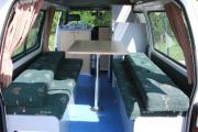 Budget 2+1 campervan hire - new zealand