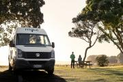 Maui Motorhomes NZ 2+1 Berth Ultima Plus Elite new zealand airport campervan hire