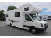 6 Berth Volkswagon Crafter campervan hire - new zealand