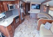 MHADL 34' - 37' Class A RV with Slideout rv rental - canada
