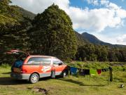 Spaceships Rocket 2 Berth campervan hire - new zealand