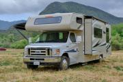 Road Bear RV International 28-30 ft Class C Motorhome with slide out rv rental san francisco