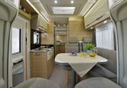 Compact Plus motorhome rental - italy