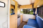 Freedom Campers NZ Path Explorer 6 Berth new zealand camper van hire