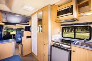 Path Explorer 6 Berth Auto campervan hire - new zealand