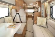 Discover NZ Motorhomes 4-6 berth Imala Deluxe campervan rental new zealand
