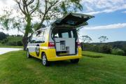 Mad 1 campervan hire - new zealand