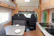 Family Plus motorhome rental - italy