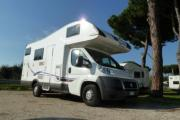 Small Motorhome - Mc Louis 211 motorhome hireitaly