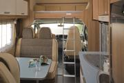Pure Motorhomes Italy Family Luxury Sunlight A70 or similar camper hire italy