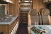 Pure Motorhomes Italy Family Luxury Sunlight A70 or similar