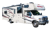 C28 Class C Motorhome rv rental los angeles