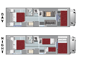Compass Campers USA C28 Class C Motorhome rv rental usa
