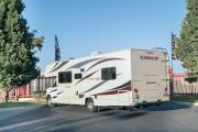 Compass Campers USA C28 Class C Motorhome cheap motorhome rental florida