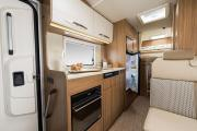 Autocaravan Express, S.A Hymer Carado A-464 cheap motorhome rental germany