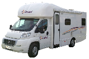 4 Berth Seeker campervan hire australia