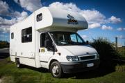 Happy 4 Berth Camper campervan hirechristchurch
