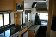 Pure Motorhomes New Zealand Deluxe 7 Berth Mitsubishi Canter new zealand camper van hire