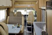 Pure Motorhomes Germany Family Luxury Sunlight A70 or similar cheap motorhome rental germany