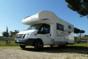 4 Berth motorhome hire