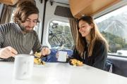 Britz Campervan Rentals NZ (Domestic) 2 Berth - Venturer new zealand airport campervan hire