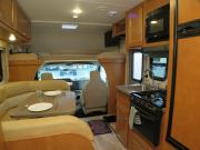 Traveland RV Rentals Ltd 23' Class C motorhome rental canada