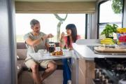 Maui Motorhomes NZ Maui Cascade Elite Motorhome campervan rental new zealand