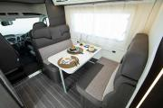 Landcruise Motorhome Hire Zefiro 690 motorhome rental uk
