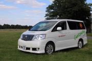 Toyota Alphard rv rental uk