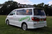 Getaway Campers Toyota Alphard worldwide motorhome and rv travel