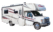 C22 Class C Motorhome rv rental los angeles