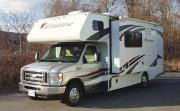 MH 25 ft Slide Class C rv rental - canada