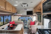Compass Campers USA C25 Class C Motorhome rv rental usa