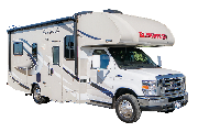 C25 Class C Motorhome rv rental los angeles