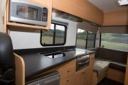 Kiwi Campers NZ Deluxe 6 Berth Mercedes Benz new zealand camper hire