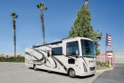 Compass Campers USA (International) AF34 Class A Motorhome Slide Out camper rental colorado