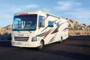 AF34 Class A Motorhome with slide outs usa motorhome rentals